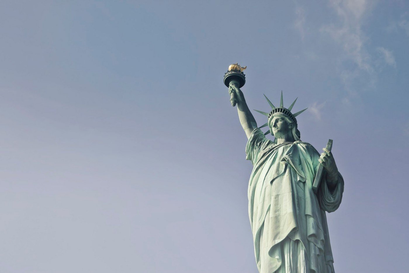 The Statue Of Liberty is the most famous example of copper that has gone through the patina process.