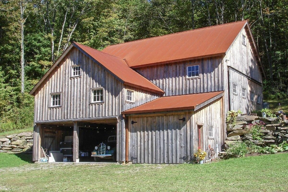 Corrugated Metal Roofing In Corten Steel