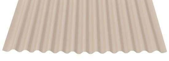 """7/8"""" Corrugated in SMP Paint- Light Stone"""