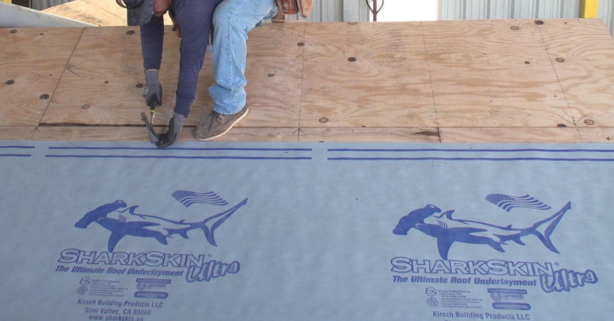 How To Install Synthetic Underlayment On A Metal Roof