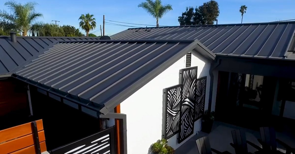 10 Benefits Of A Standing Seam Metal Roof